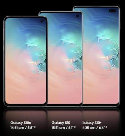 Samsung Galaxy S10 / S10e / S10+ bei Telefónica