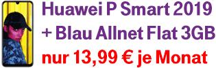 Huawei P Smart 2019 bei Blau.de
