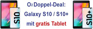 o2 Doppel-Deal mit gratis Tablet