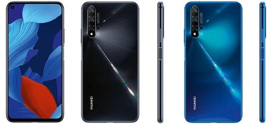 Huawei nova 5T mit Vertrag von o2 oder Blau.de