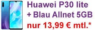 Huawei P30 lite bei Blau.de