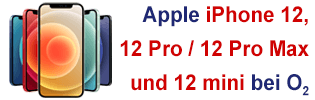 Apple iPhone 12 bei o2
