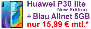 Huawei P30 lite New Edition bei Blau.de