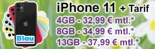 Apple iPhone 11 günstig bei Blau.de